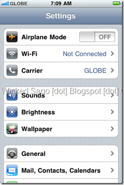 apn settings iphone iphone apn setting globe telecom 6367