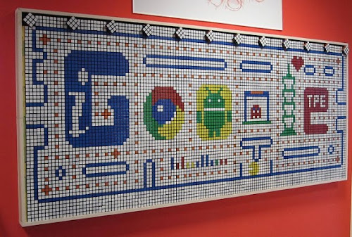 Winners from googles wall art contest
