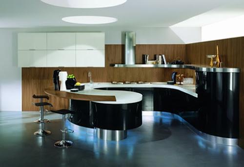 Inspirational Design Round Kitchens New Trend In Modern