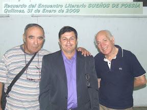 Casildo Casco Orué, Ruben Sada, Oscar Macho