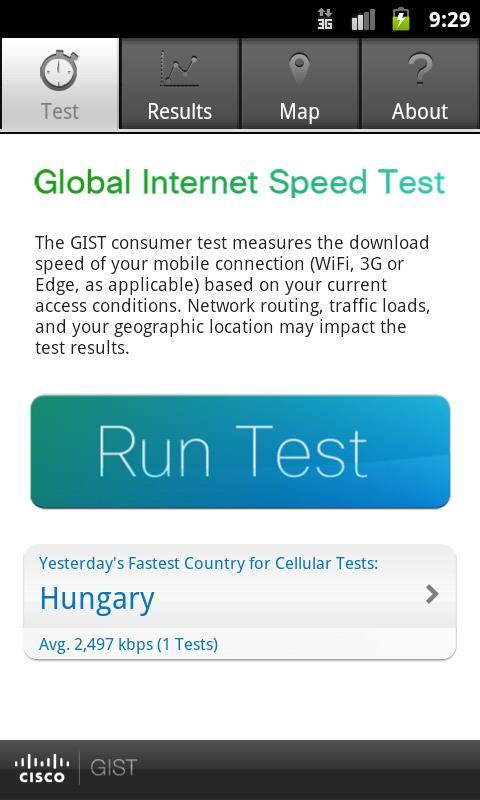 Cisco GIST - screenshot