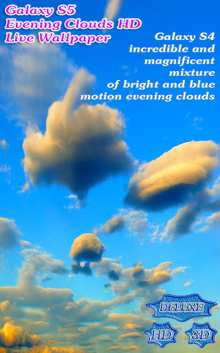 【免費個人化App】Galaxy S5 Evening Clouds 3D-APP點子