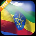 3D Ethiopia Flag icon