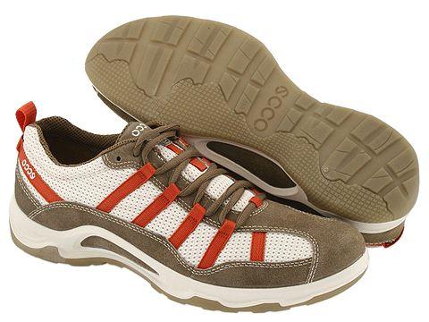 Mover Calzado Hielo marcas Zapatillas Brown Navajo Blanco Ecco OP0X8wkn