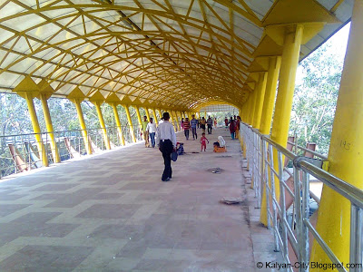 Yellow Sky Walk Ulhasnagar Station