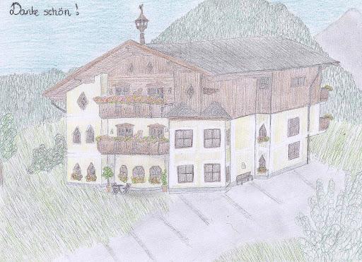 Frau Caroline Bjelbæk aus Dänemark hat uns diese wunderschöne Zeichung überreicht