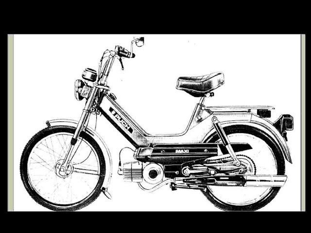 Puch maxiluxe service Manual