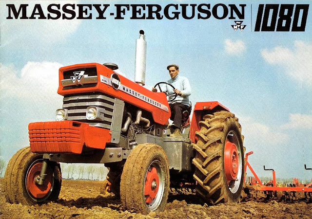 MASSEY FERGUSON MF1080 REPAIR MANUALS 220pg for MF 1080 Workshop Tractor  Service