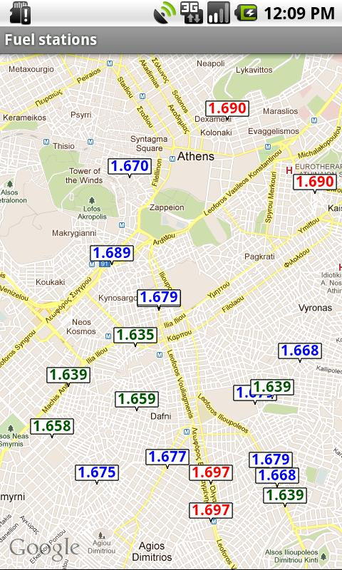 Fuel Prices in Greece- screenshot