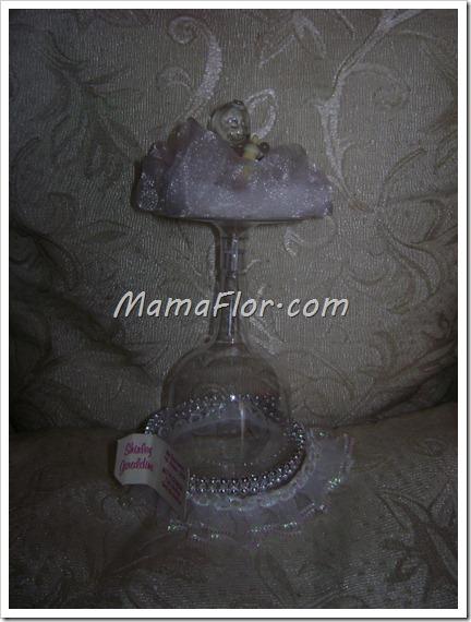 Baby Shower: Copas decoradas para Recordatorios