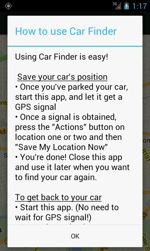 Car Finder - screenshot