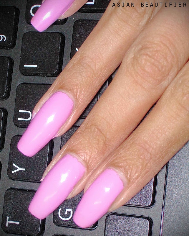 Nails Inc Instyle Candy Pink