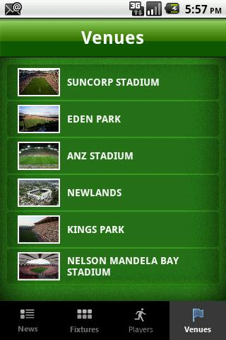 Keo.co.za Rugby App - screenshot