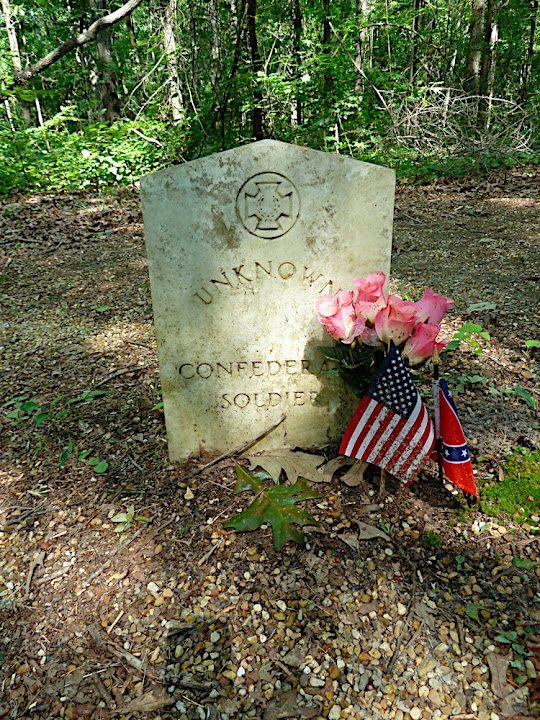 Confederate Soldier Grave