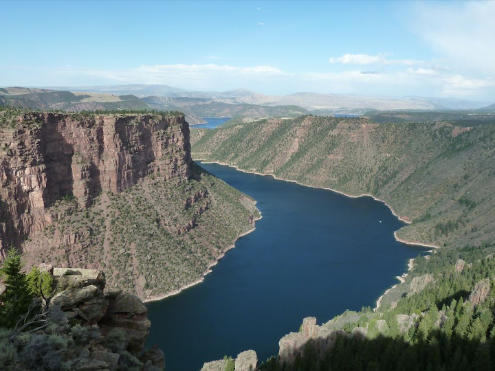 Flaming Gorge near Green River, WY