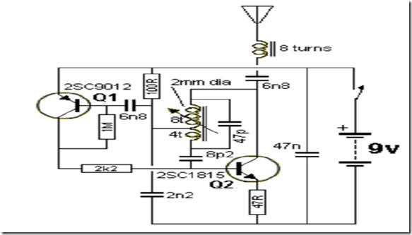 Simple Am Radio Circuit Diagram Simple Am Radio Receiver Circuit