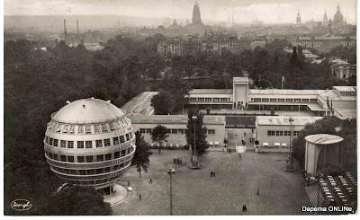 Das Erste Kugelhaus Der Welt Dresden Postkarte Kalenderwoche 3109