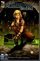 The Adventures of Sinbad #9