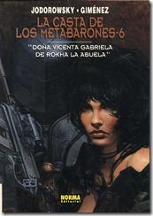 P00007 - La casta de los Metabarones  - Doña Vicenta Gabriela de Rokha la abuela.howtoarsenio.blogspot.com #6
