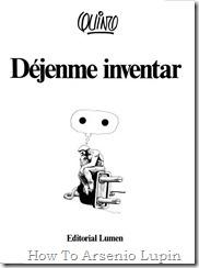 Quino 1983 - Dejenme inventar