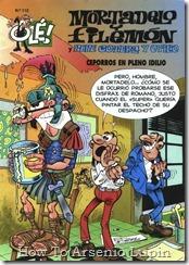 P00112 - Mortadelo y Filemon  - Ceporros en pleno idilio.howtoarsenio.blogspot.com #112
