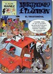 P00136 - Mortadelo y Filemon  - El trastomovil.howtoarsenio.blogspot.com #136