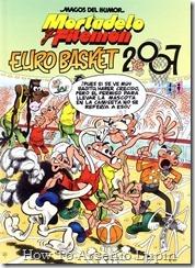 P00178 - Mortadelo y Filemon  - Eurobasket .howtoarsenio.blogspot.com #178