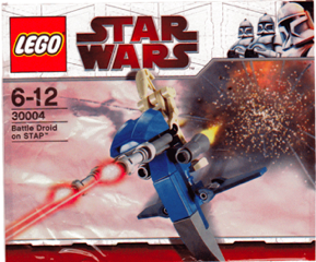 LEGO: 30004 Battle Droid on STAP