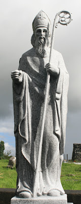 St. Patricks Day history - Statue of St Patrick