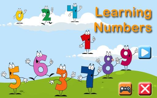子供たちは数字を学ぶ
