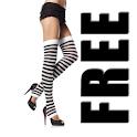 Just Legwarmers FREE logo