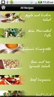 Screenshot of iCooking Salads Lite