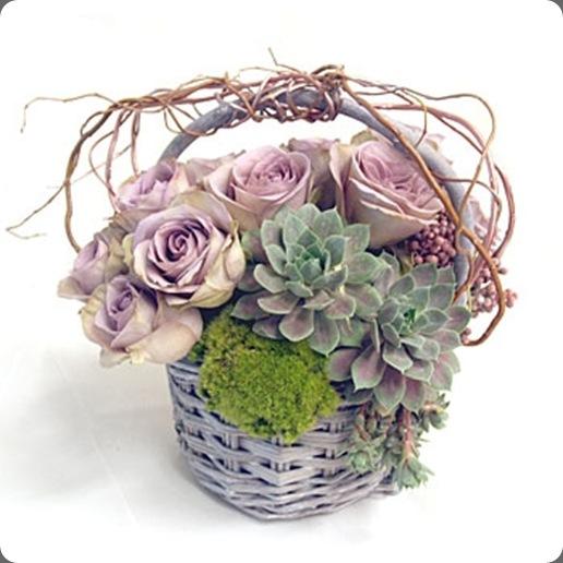 AntqRoseBasket mark's flowers