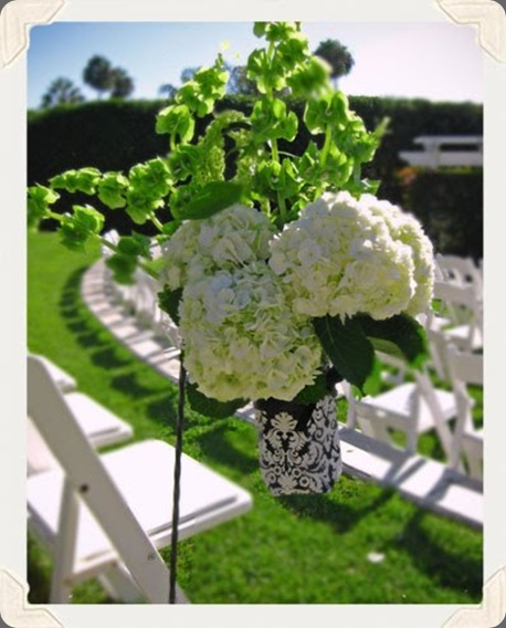 damask wedding idea honey and poppies