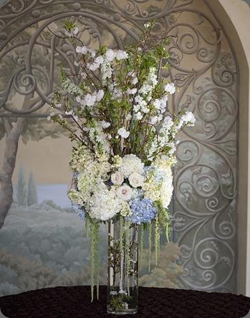 Alysha entrance arrangement heavenly blooms