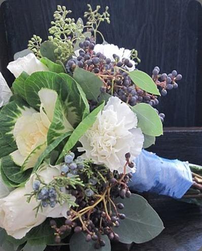 bridesmaids bouqet blush floral design