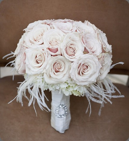 Alysha Bridal bouquet close up sahara roses heavenly bloom