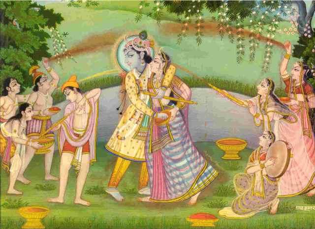 Radha Krishna ki Rangbhari Ras Leela ...Holi