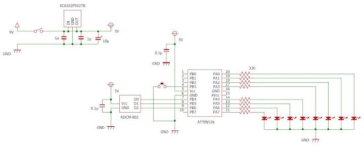 compass circuits hmc5883