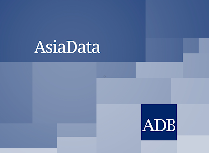 ADB's AsiaData - screenshot thumbnail