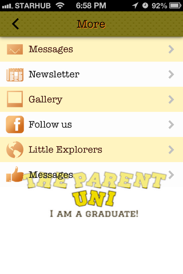 The parent uni android apps on google play