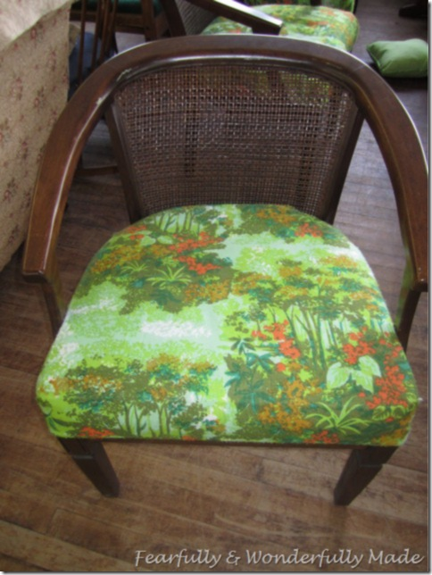 Vintage Cane Chair Update
