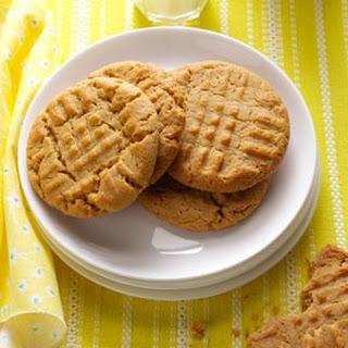 Honey-Peanut Butter Cookies.