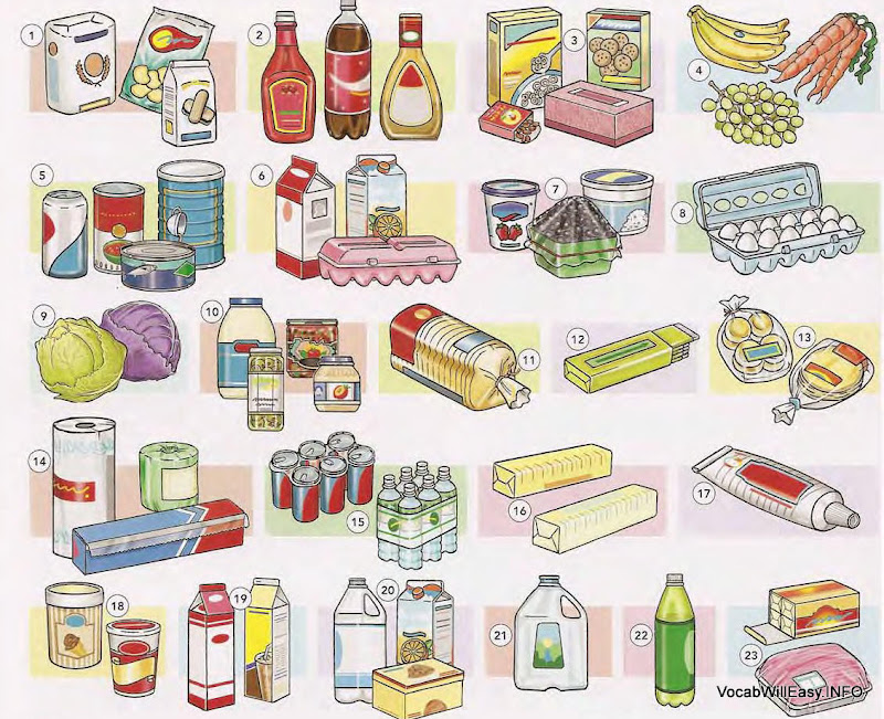 CONTAINERS, QUANTITIES - Online Dictionary for Kids