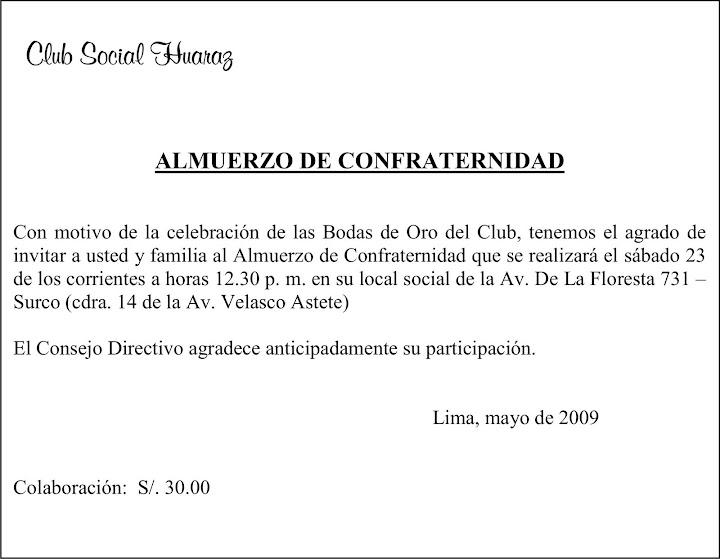 Nosotros Opinamos 19 May 2009