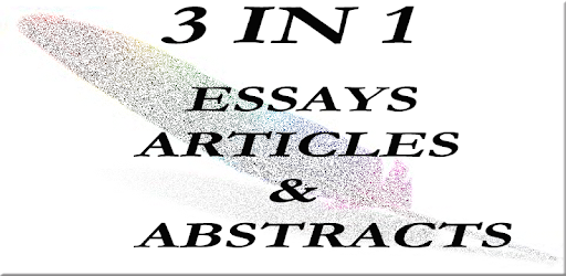 essays  articles  u0026 abstracts