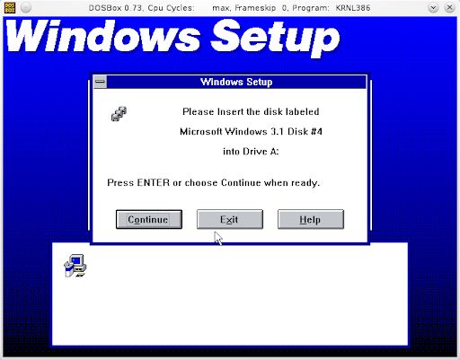 Install Windows 3 1 Inside Dosbox - Retro software guide
