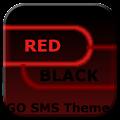 App GO SMS Theme Dark Red Black APK for Windows Phone
