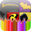 Coloring Book Heros icon
