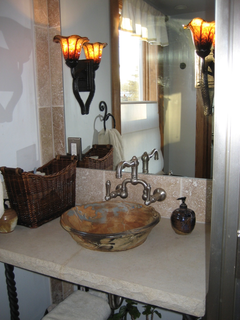 first comes love the vessel sink